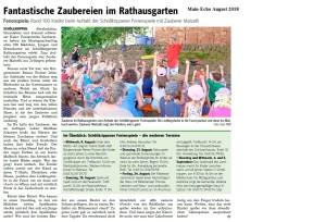 Matzelli Presse 2018